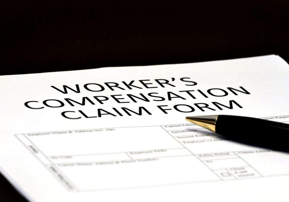 Work Comp Claim Form