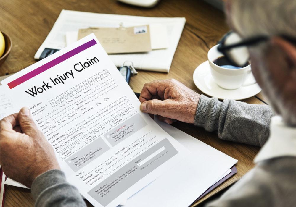 work injury personal claim